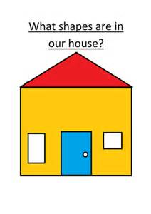 shape house house shapes 2d shapes by bettsx teaching resources tes