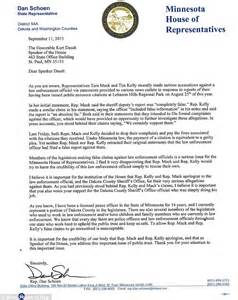 Apology Letter To My For Lying Minnesota Lawmakers Apologize After Ranger Fined Them For Out In Park Daily Mail