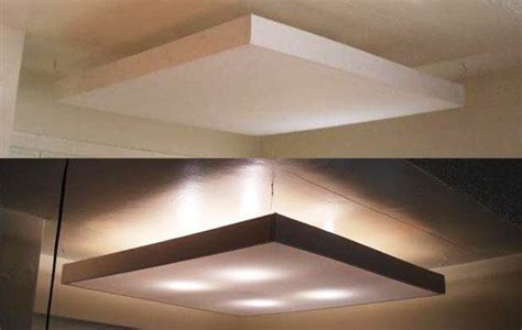 diy ceiling light panel acrylic lighting panels light