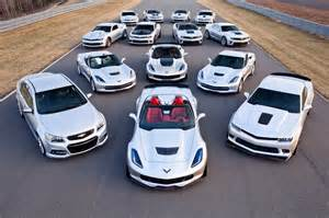 Chevrolet Performance Chevrolet Shows Expanded Performance Car Line For The