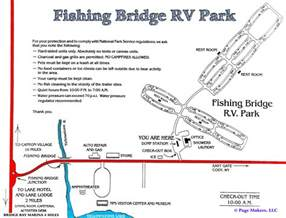yellowstone rv cing map
