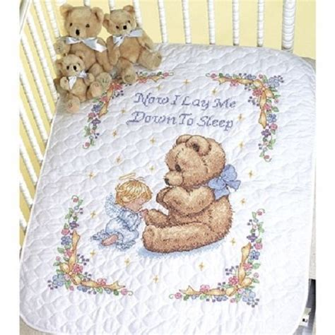 Baby Quilt Cross Stitch by Baby Quilt Cross Stitch Sted Cross Stitch Blanket Kit