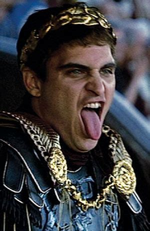 gladiator film emperor no more incest historical histrionics