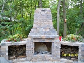 outdoor fireplaces from prestige landscaping llc garden