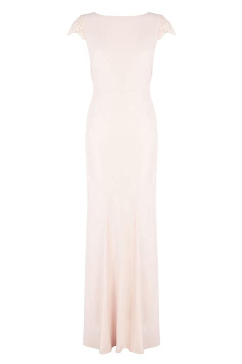 Sherina Maxi adelina maxi dress weddings blush pink
