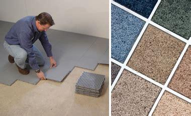 Waterproof Basement Floor Matting Installed in Kenora