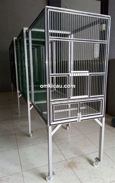 Kawat Ram Untuk Burung jaya alumunium luncurkan kandang umbar yang aman untuk burung klub burung