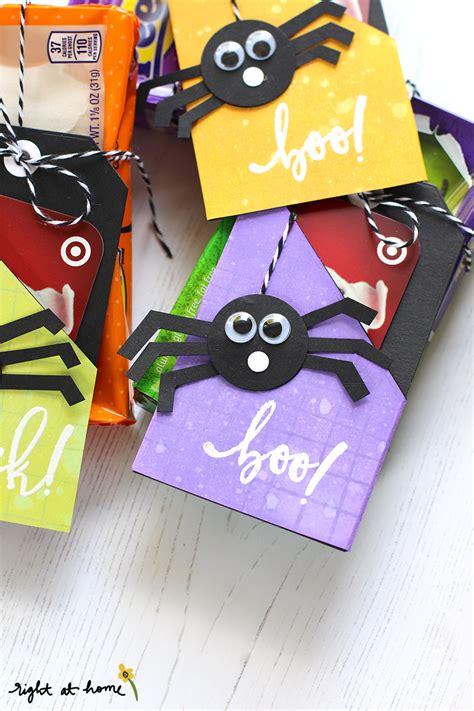 Halloween Gift Cards - diy halloween gift card tags eighteen25