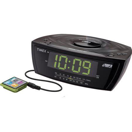 timex t227bq3 large display alarm clock radio walmart