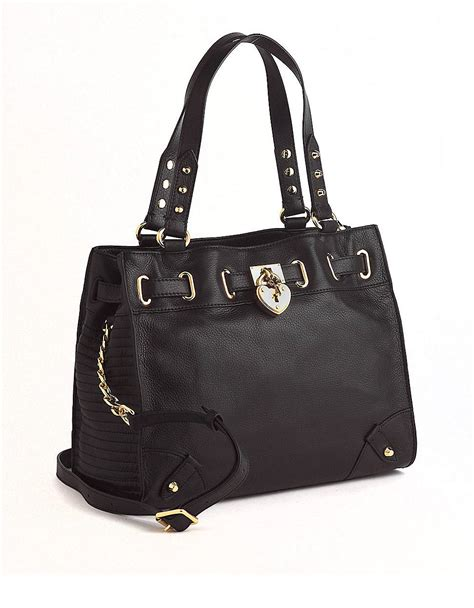 leather crossbody tote couture daydreamer leather crossbody tote bag in black lyst