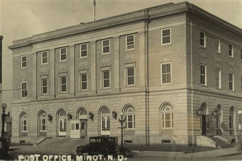 Minot Post Office by U S Post Offices Minot Dakota 1915 Philatelic