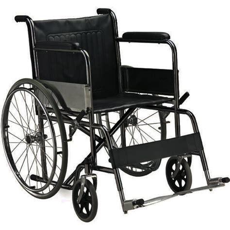sedia anziani sedia a rotelle carrozzina pieghevole standard