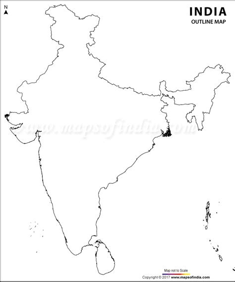An Outline Political Map Of India by Search Results For Blank Map Of Ancient India Calendar 2015