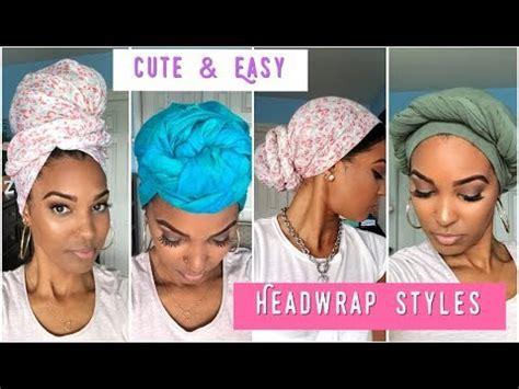turban tutorial natural hair 4 easy turban headwrap styles tutorial natural hair