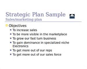 sales strategy template 14 sales strategy templates free sle exle