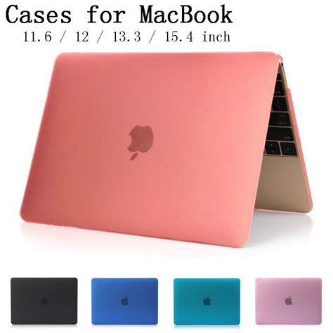 new matte shell cover for apple macbook air pro retina 11 6 12 13 3 15 4 inch