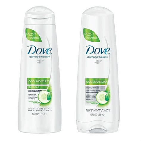 Shoo Dove Malaysia by Dove Shoo And Conditioner Damage Therapy Cool Moisture