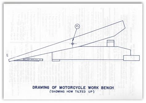 motorcycle bench plans woodwork wooden motorcycle lift table plans pdf plans
