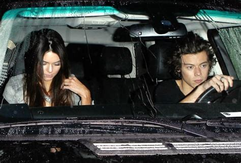 Kendall Jenner And Harry Styles Were Spotted Eating Together At A | kendall jenner harry styles dinner date couple spotted