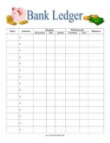 printable bank ledger