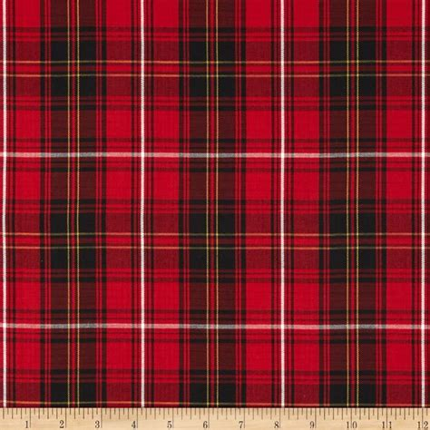what is plaid house of wales plaid red discount designer fabric