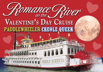 valentines day cruises on the river creole