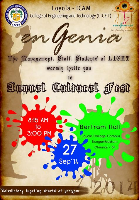 themes for college annual fest college cultural fest invitation template anselm and anselm