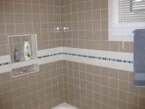 Redi Tile Shower Niche by Un Remodels 1980s Bathroom Restores Its 1950s