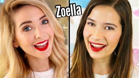 eyeshadow tutorial zoella zoella inspired makeup tutorial youtube
