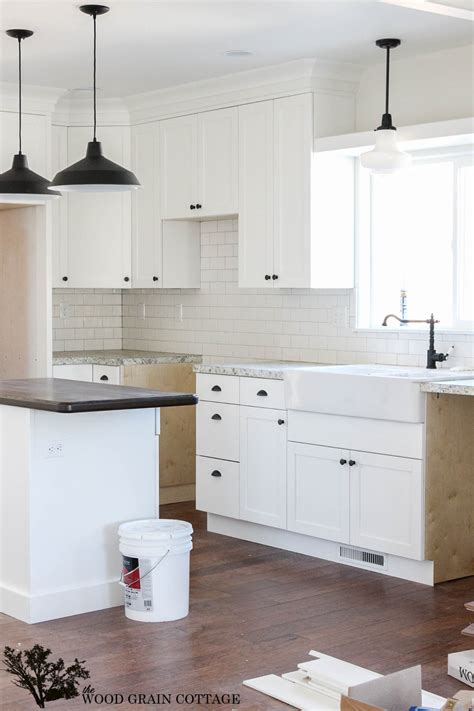 Put Together Kitchen Cabinets by Fixer Upper Update Cabinet Hardware The Wood Grain Cottage