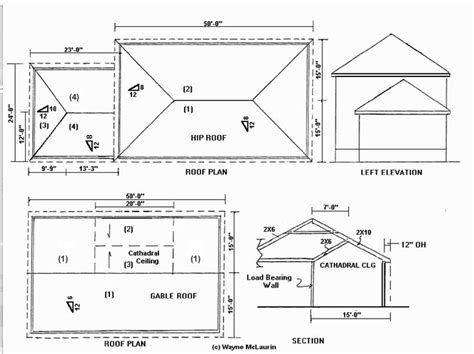 hip roof construction pinteres residential section hip roof google search