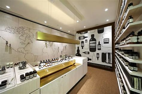 retail interior design contemporary retail store interior design aesop australia