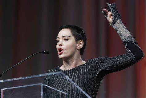 donald trump hello motherf rose mcgowan in first speech since the scandal the