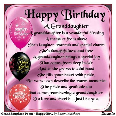 Happy Birthday Wishes To My Granddaughter Granddaughter Quotes Like Success