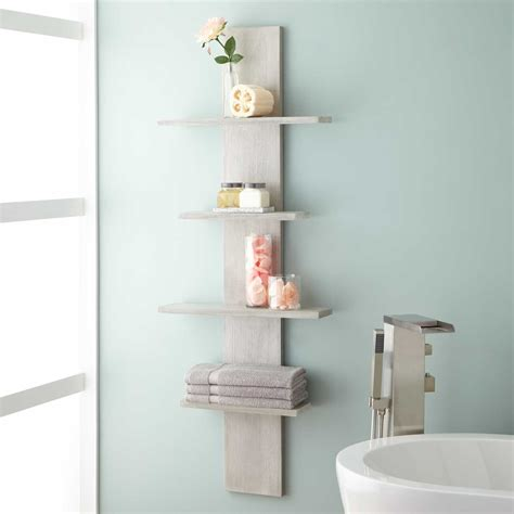 bathroom wall rack bathroom shelves hanging cool pink bathroom shelves