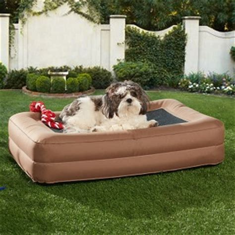 favored inflatable air mattress travel bed ideas  pet