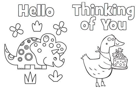 Free Printable Appreciation Cards To Color