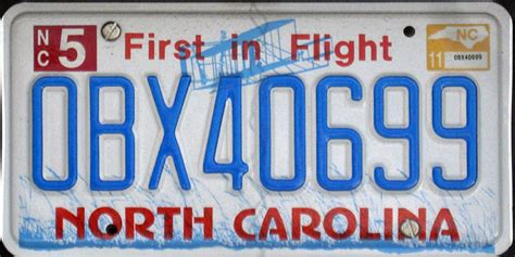 Vanity Plates Nc by Countdown 10 Most Attractive U S License Plates