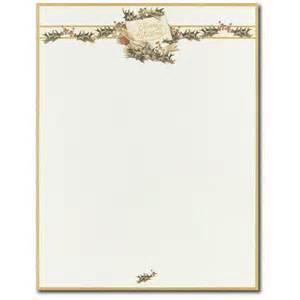 Border christmas holiday stationery paper letterhead alhx73 100 ebay