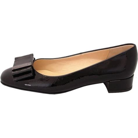 Eunie Shoes kaiser eunice dressy pumps in black patent mozimo
