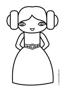baby wars coloring pages princesse leia coloring pages for printable