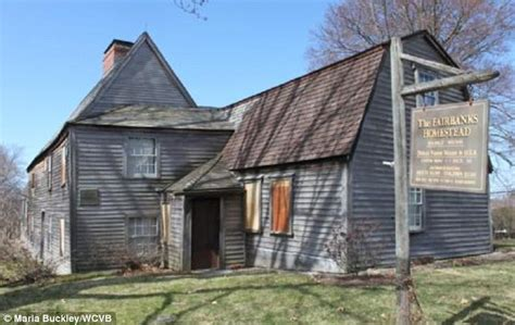 oldest house in america fairbanks house in massachusetts is america 191 s oldest house haunted daily mail online