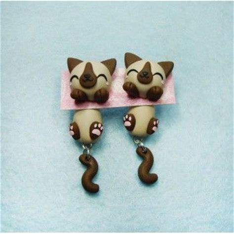 pin by eve clay on blogilates by cassey ho pinterest siamese cat clinging ears fimo handmade hecho a mano