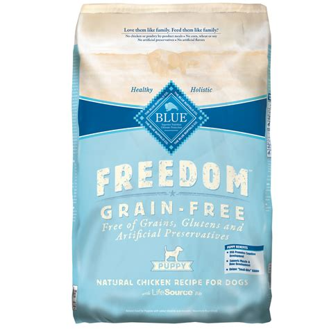 blue buffalo freedom puppy blue buffalo freedom grain free puppy chicken recipe 24 lb
