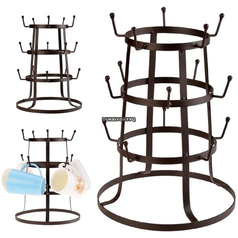Cup Racks by Mug Tree Holder Cup Rack Drying Stand Coffee Mugs Kitchen