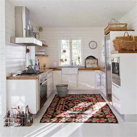 grand tapis cuisine tapis de cuisine 10 bonnes raisons de l adopter maison