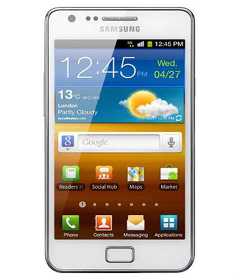 samsung s2 mobile phone samsung galaxy s2 white mobile phones at low prices