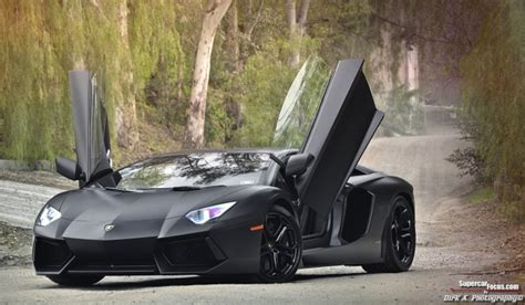 Lamborghini Aventador Black Price For Sale Matte Black Lamborghini Aventador Lp700 4 Gtspirit