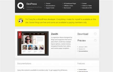 wordpress themes zenith best wordpress themes 2013 top 20 best wordpress themes