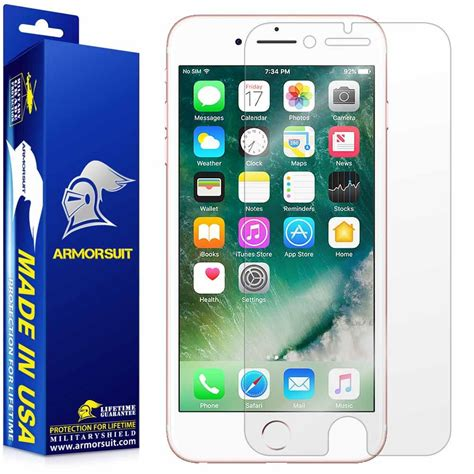 apple iphone 7 plus screen protector armorsuit